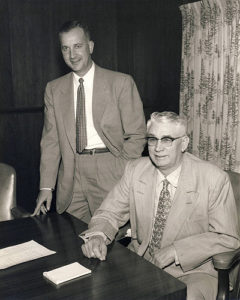 Henry Nodland Jr. and Henry Nodland Sr.